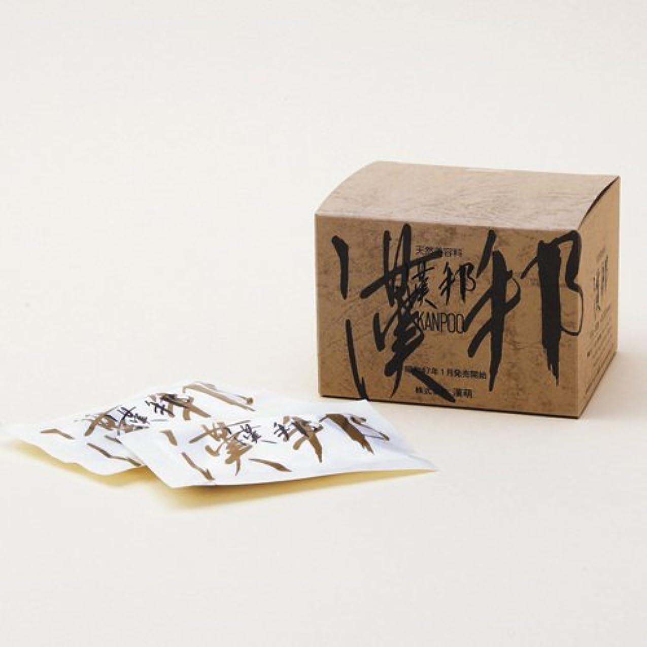 ほのめかす放散する警官漢萌(KANPOO) 漢邦ぬか袋(全肌活肌料) 熟成12年 10g×16袋