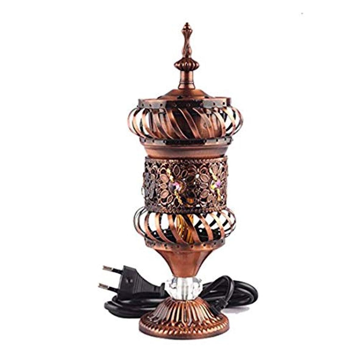 補正おじさんスツールOMG-Deal Electric Bakhoor Burner Electric Incense Burner +Camphor- Oud Resin Frankincense Camphor Positive Energy Gift - WF-075 - Copper