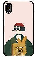 5デザインB-TRかわいいマチルダ&レオンクラシック映画レオン素敵な男映画俳優モチーフ愛しいレディース可愛いムービーキャラクターラブリーパステルピンクおもしろいイラストアートスタイル美しいイエロー洗練された黒サングラスをかけたメンズプレプラレッド帽子をかぶった少女シンプルなグレー優雅な植木鉢を持っているキラーレオンマティルダキュートな華やかなスタイルのレトロレオン&マティルダ復古風プリプラブラックトレンチコートを着た男性おしゃれなカップルケースiPhoneケース&Galaxyケースシリコンとポリカーボネート二重構造カード収納ミラー機能ドアバンパースマホケース N.442 (iPhone 6 / iPhone 6s, 2.Big Matilda) [並行輸入品]