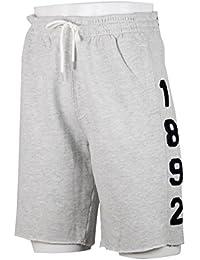 アバクロンビー&フィッチ Abercrombie & Fitch S M クリックポストで ショートパンツ short pants 1892 ホワイトグレー [並行輸入品]
