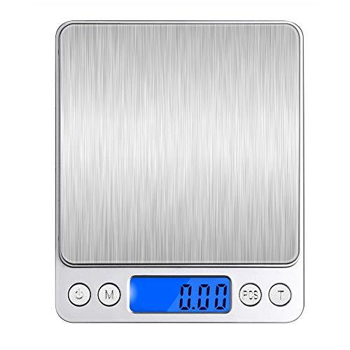 デジタルスケール キッチンスケール 0.01-500g精密 電子スケール クッキングスケール 精密電子はかり 電子天秤 コンパクト 風袋引き機能 多用途超小型