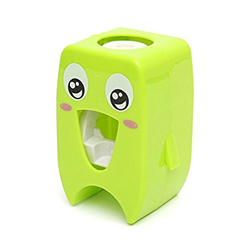 BeautySu.칫솔 스탠드 칫솔 홀더 자동 치약 dispenser 어린이용 그린-120660