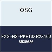 OSG エンドミル FXS-HS-PKE16XR2X100 商品番号 8535626