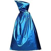 [125cm青]ハロウィンフード付きのクローククリスマスパーティーコスプレ衣装