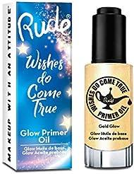 RUDE? Wishes Do Come True Glow Primer Oil - Gold (並行輸入品)