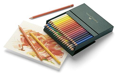 ファーバーカステル ポリクロモス色鉛筆 36色セット-スタジオボックス