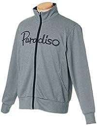 パラディーゾ(PARADISO) テニスウェア メンズ ジャケット ICM07M CG:チャコールグレー L