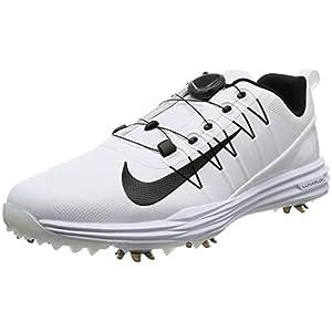 [ナイキゴルフ] ゴルフシューズ ナイキ ルナ コマンド 2 ボア メンズ ホワイト/ブラック/ホワイト 25.5 cm