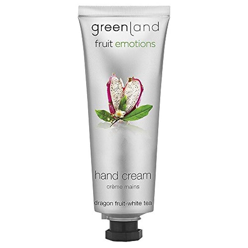 送った変形する肌寒いgreenland [FruitEmotions] ハンドクリーム 75ml ドラゴンフルーツ&ホワイトティー FE0538
