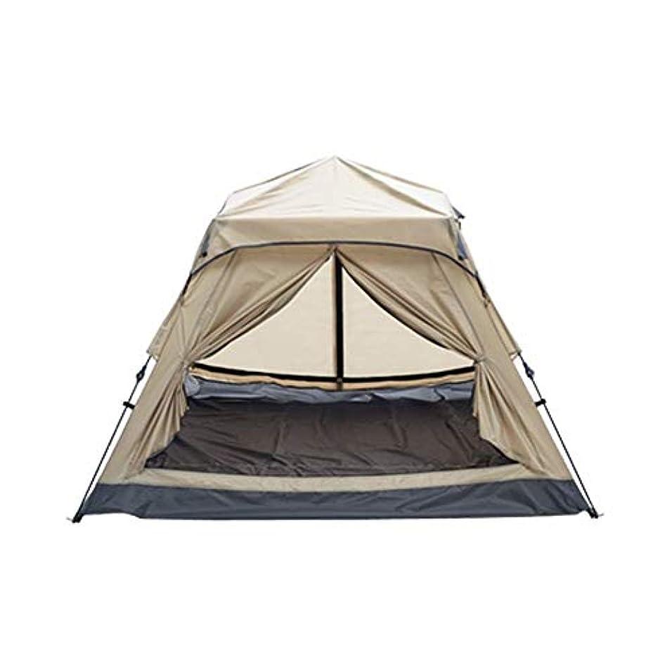 要件起こる時間LJMYP キャンプ用テントバックパック用テントキャンプ用ギアテントキャンプ用テント、屋外用自動テント防水防風家族用屋外テントで簡単セットアップ