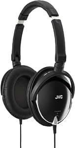 JVC HA-S600-B 密閉型ヘッドホン 折りたたみ式 ブラック