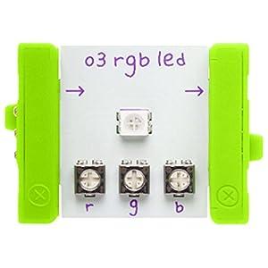 littleBits 電子工作 モジュール BITS MODULES O3 RGB LED レッド・グリーン・ブルー発光ダイオード