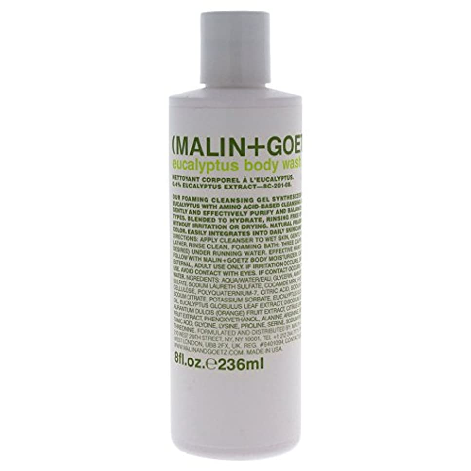 皮有毒ウィザードMALIN+GOETZ Eucalyptus Body Wash 236ml/8oz並行輸入品