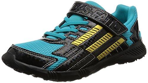 [アディダス]運動靴 KIDS アディダスファイト EL K エナジーブルー S17/ゴールドメット...