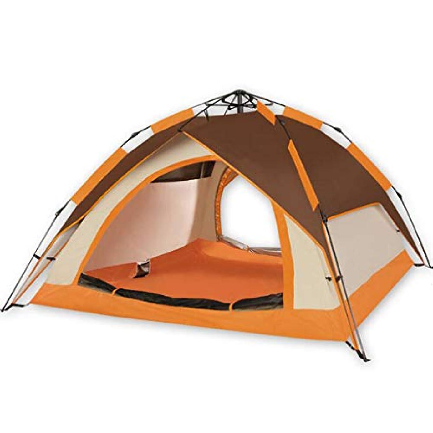 怠感皮肉痛いHUYYA ト キャンプテント 3-4人 防水、折りたたみ ポップアッインスタントセットアップハイキング用品 バックパック