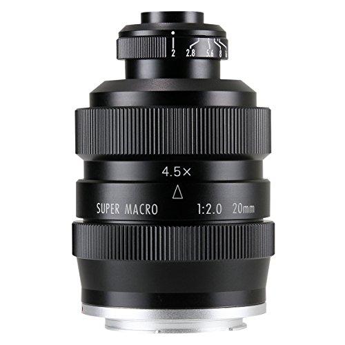 中一光学(ZHONG YI OPITCS) FREEWALKER 20mm F2 SUPER MACRO 4-4.5:1 (ソニーEマウント)