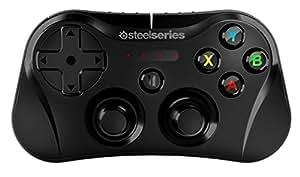 【日本正規代理店品】 SteelSeries Stratus iOS用 Bluetooth ゲーミングコントローラー ブラック 69016