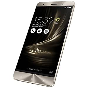 SIMフリー ASUS Zenfone 3 Deluxe Dual ZS570KL 5.7インチ 4GB/32GB 版 4G LTE (Silver/シルバー) [並行輸入品]