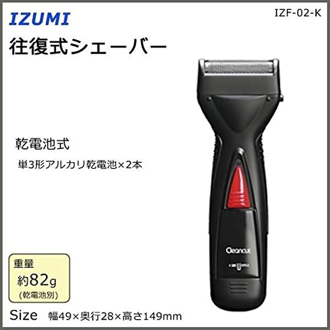 チャンス机中にIZUMI 往復式シェーバー IZF-02-K
