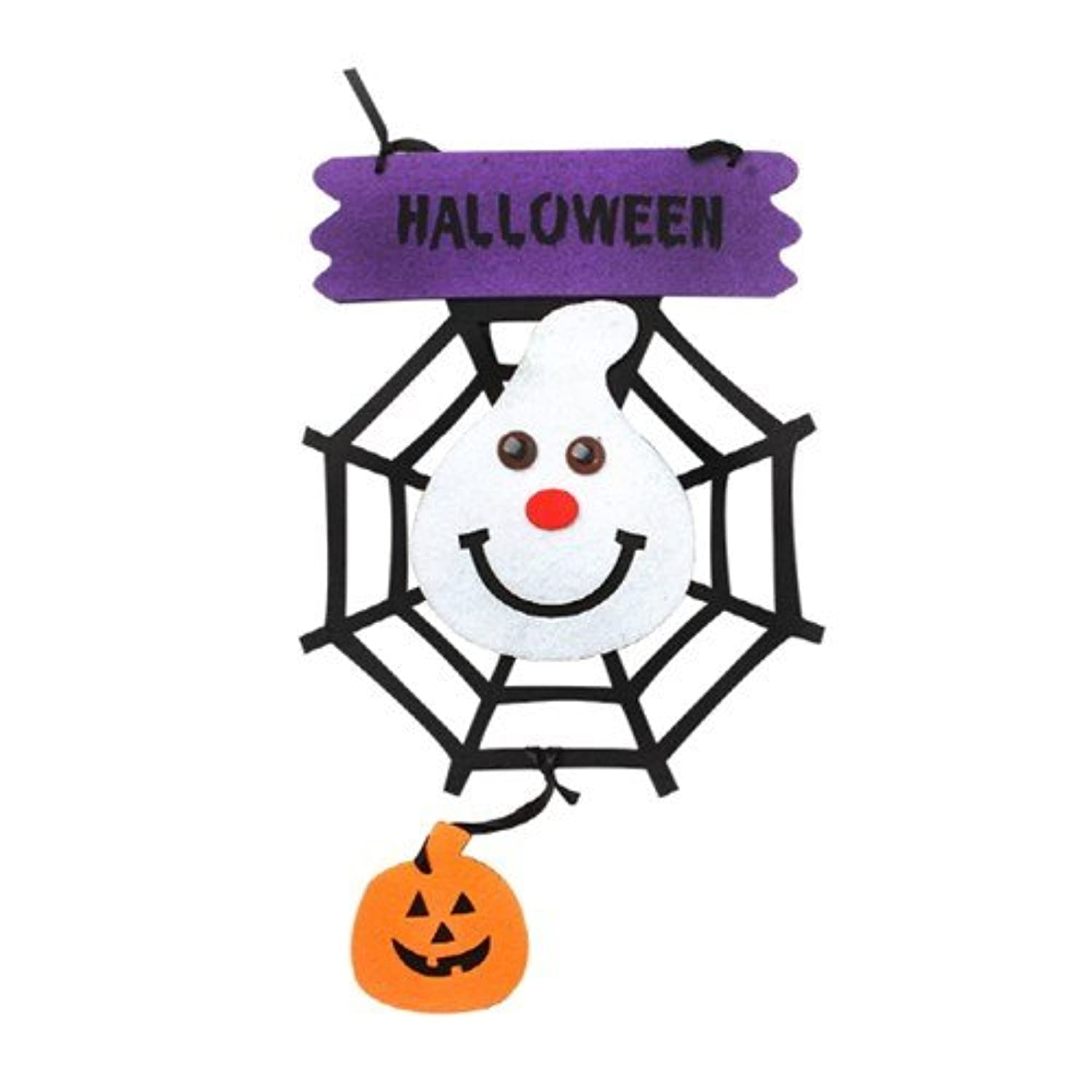 Fun Party Toy - Halloween felt Hanging Deco [ghost]