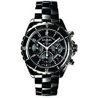 (シャネル) CHANEL 腕時計 J12クロノグラフ H0940 ブラック メンズ [並行輸入品]