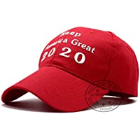MKJNBH Hat Re Election Keep America Great Embroidery Flag Cap Cotton Baseball Cap
