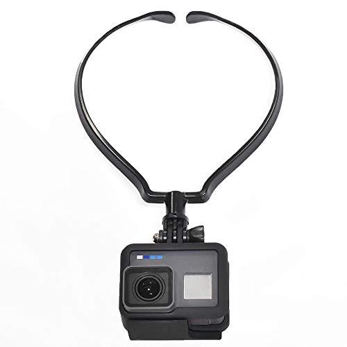 [GLIDER] GoPro アクセサリー ネックハウジングマウント 黒