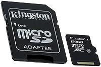 Professionalキングストン64GB microSDXC Garmin dezl 560lmt withカスタム書式と標準SDアダプタ。( 80mbps /クラス10/ UHS - I )