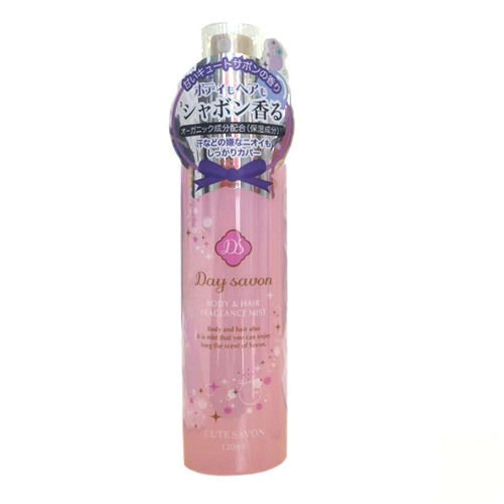 印象的なディスカウント不純富士薬品 デイサボン ボディ&ヘアミスト キュートサボン(甘い石鹸の香り)[化粧水] 120mL