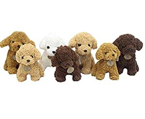 Stuffed PuppiesキュートPlush Puppy動物ぬいぐるみ犬のおもちゃ誕生日プレゼントby Magical Imaginary (ランダムカラー)