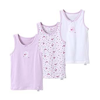 b9c57c0165f04 画像はありません. 選択したカラーの画像がありません。 カラー:. Tortor 1bacha(JP) タンクトップ キッズ 女の子 3枚セット  リボン 子供服 袖