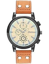 5651ac8396 メンズ 腕時計 2019 Yeefant メンズ 時計 Watch 合金ケース レザーバンド ラウンドフェイス 軽量 ウォッチ シンプル おしゃれ  ビジネス カジュアル 男性腕時計…