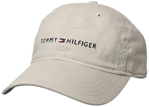 2495a01538e (トミー ヒルフィガー)TOMMY HILFIGER キャップ 帽子 FLAGライン ロゴ CAP ベージュ -  並行