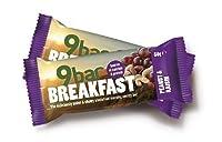 9Bar - Breakfast - Peanut & Raisin - 50g (Case of 16)