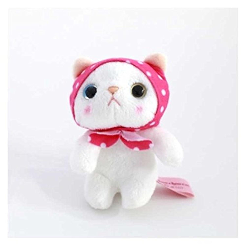 choo choo cat チューチューキャット ぬいぐるみマスコット ピンクずきん 猫 高さ9cm ピンクずきん