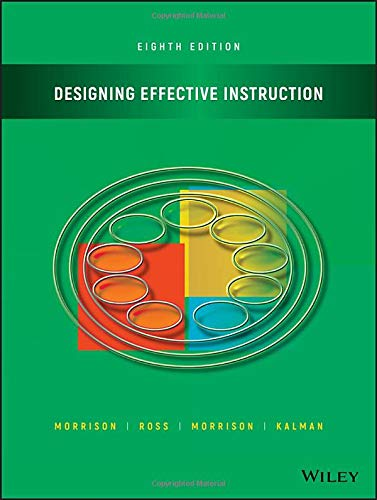 Download Designing Effective Instruction 1119465931