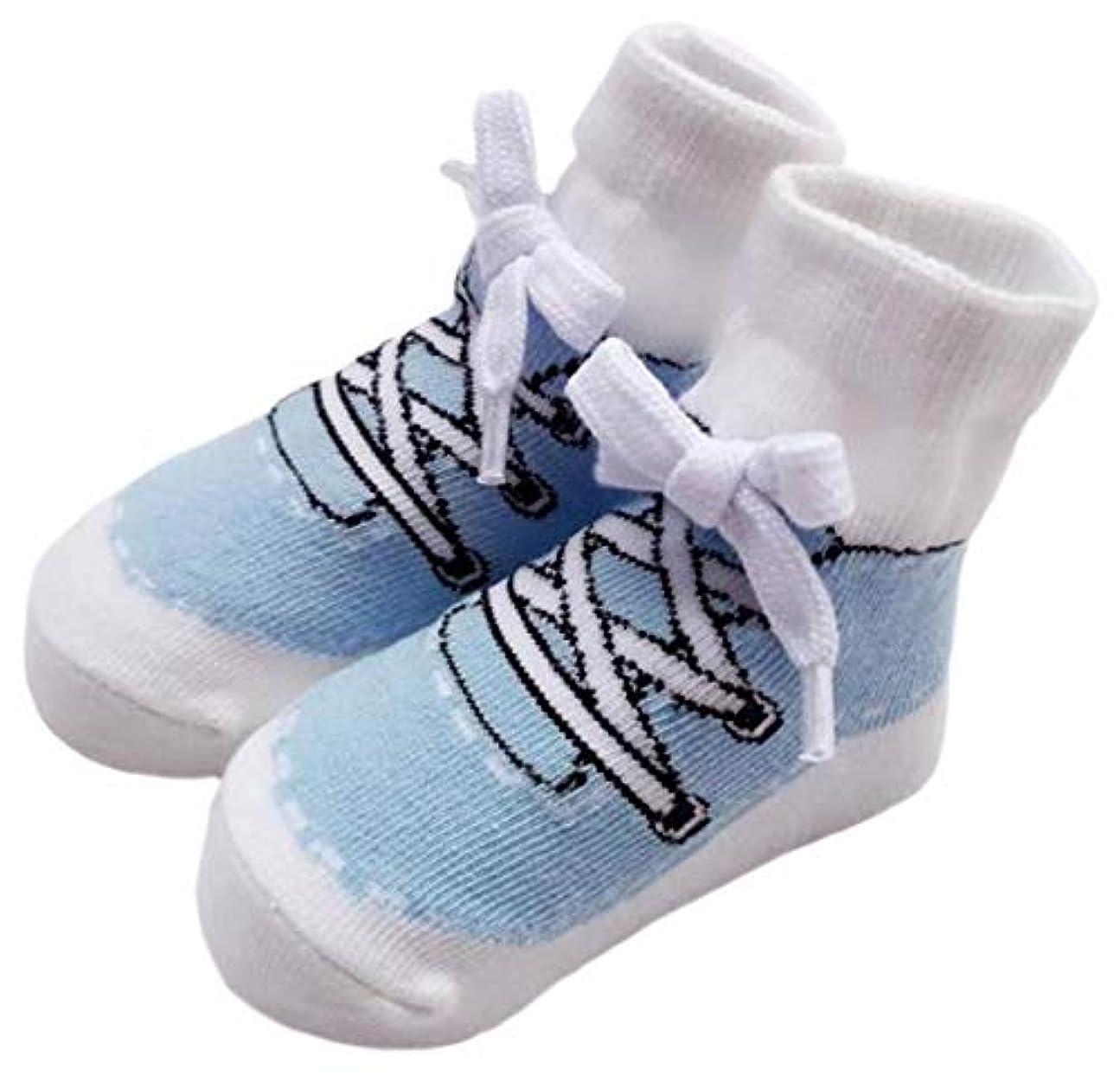 貝殻反毒手順ふく福 可愛い 綿 ベビー 靴下 キッズ用 足袋 ソックス 新生児 出産祝い 通学 子供用 カレッジ風 保温 秋冬 女の子 男の子 滑り止め付き