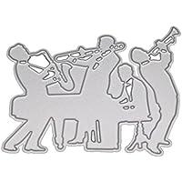 JAGETRADEオーケストラカッティングダイスステンシルDIYスクラップブッキングエンボスアルバムペーパーカードクラフト