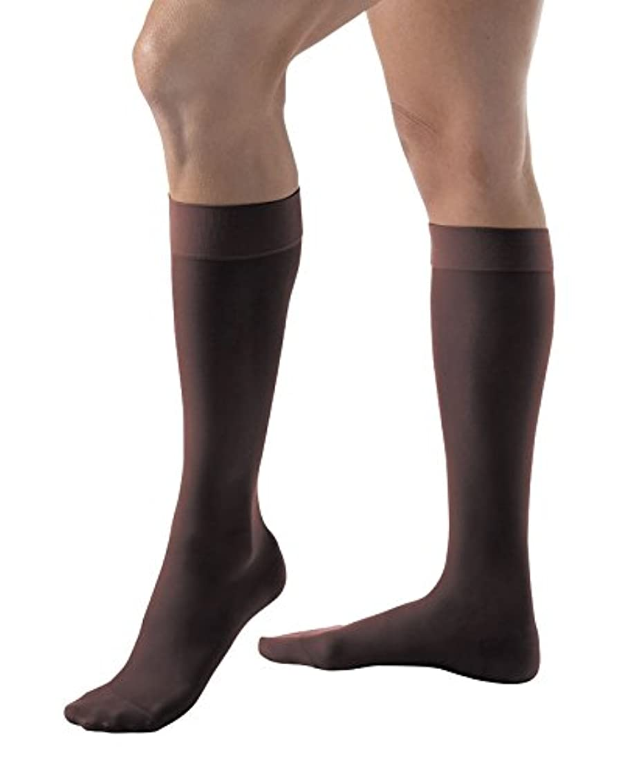 格差余暇専らWomen's Ultrasheer 15-20 mmHg Closed Toe Knee High Support Sock Size: X-Large Full Calf, Color: Classic Black...
