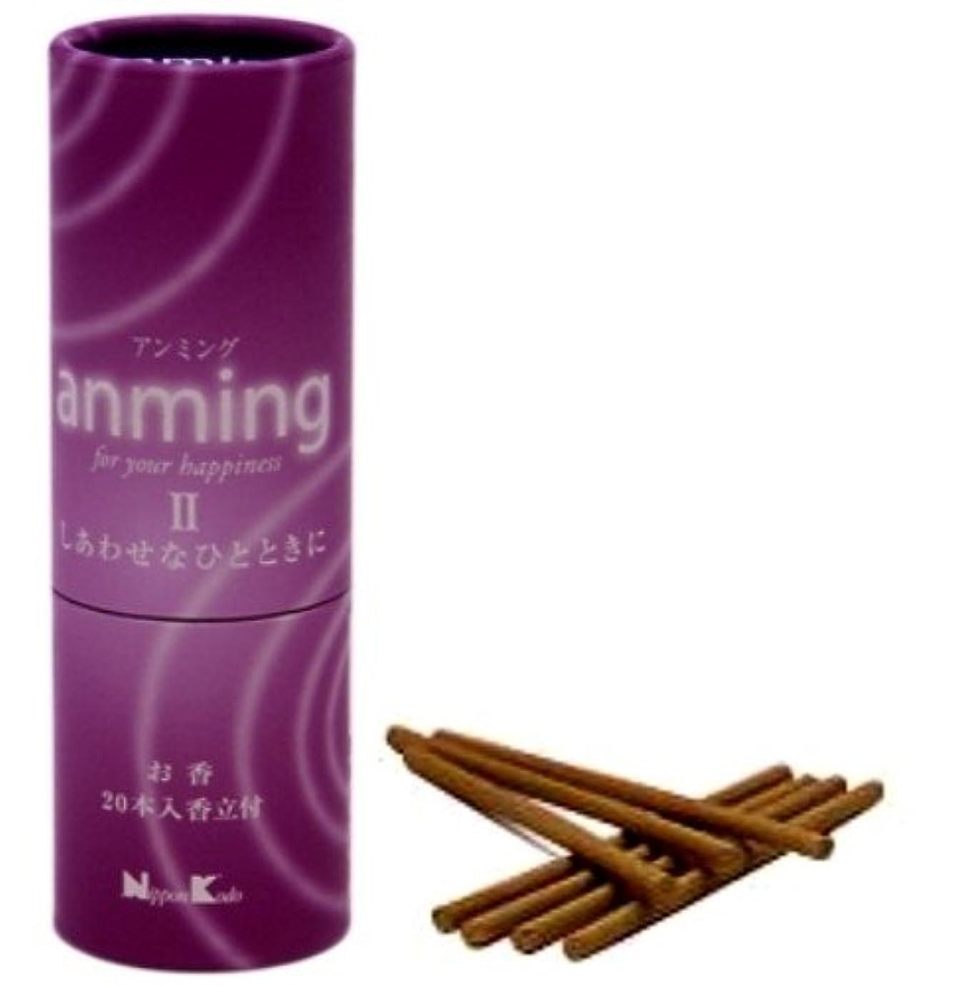 魅惑するくちばし消費するanming2(アンミング2) お香 20本入り