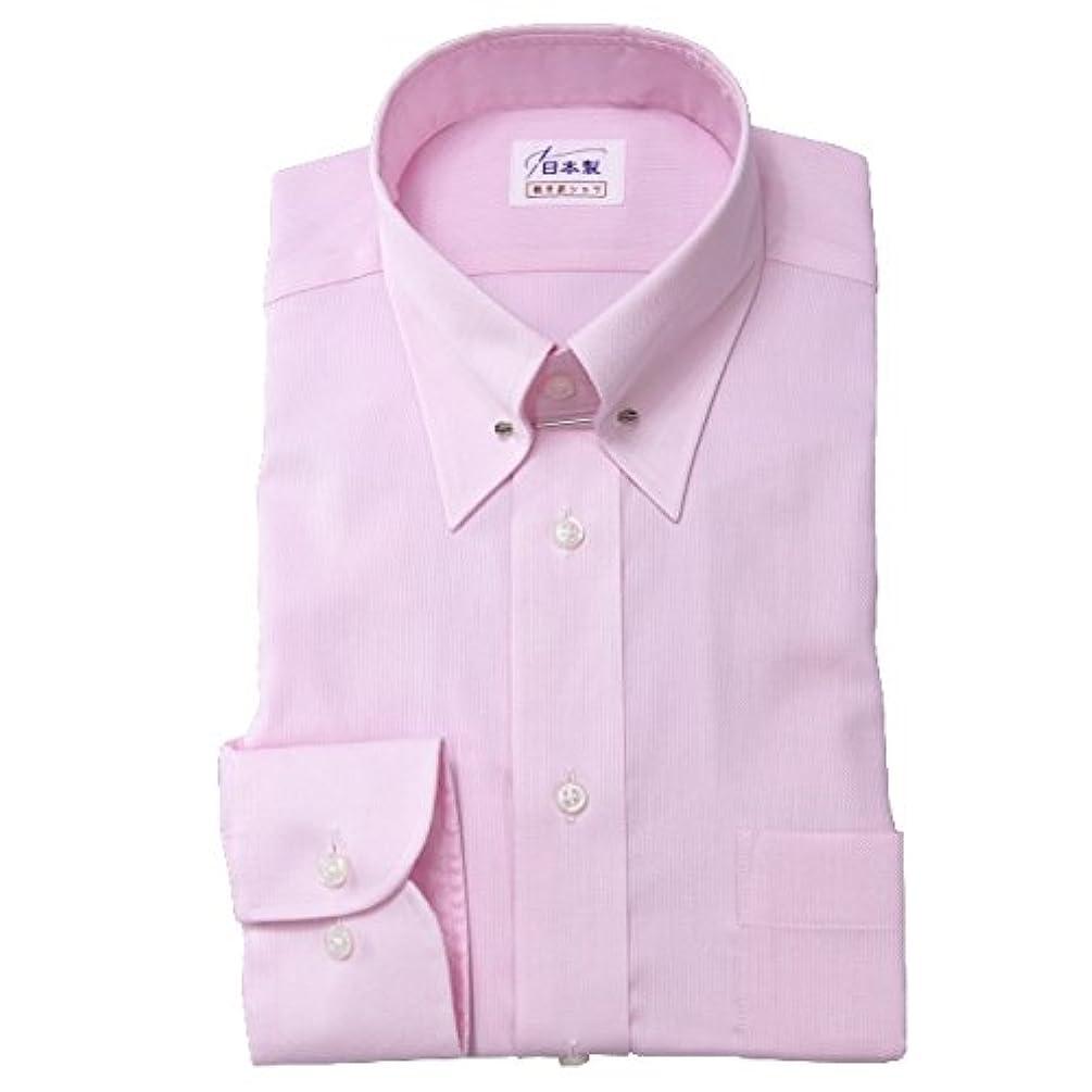 広告する独特の体系的にワイシャツ メンズ長袖(形態安定シャツ)ピンホールカラー ピンク系ロイヤルOX 軽井沢シャツ [A10KZZP18]