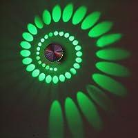 LightInTheBox 3W芸術的モダンLEDウォールライト壁掛け燭台壁with ScatteringライトデザインWhirlpoolシャドウ、ストレッチ、含ま電球、LED S063037700003##wh=