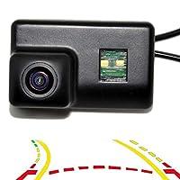 可変駐車ライン動的軌跡トラック車のリアビュー駐車バックアップカメラ用プジョー206/207/407/307 / 307SMセダン (For Peugeot 206/207/407/307/307SM Sedan)