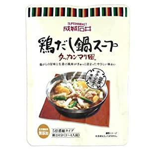 成城石井 鶏だし鍋スープ(タッカンマリ風) 200g