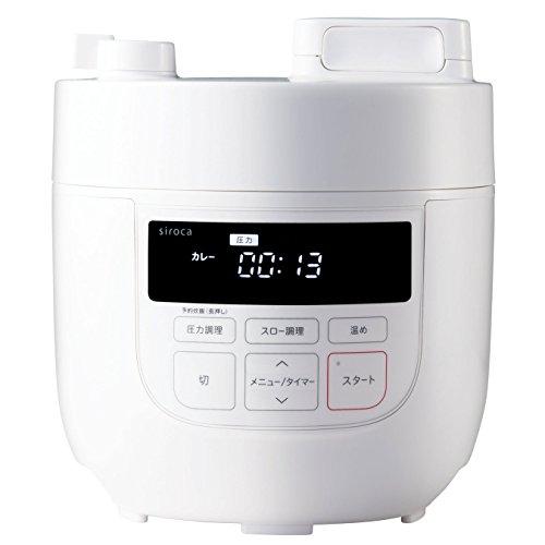 siroca 電気圧力鍋 SP-D131(W)