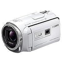 SONY HDビデオカメラ Handycam HDR-PJ670 ホワイト 光学30倍 HDR-PJ670-W