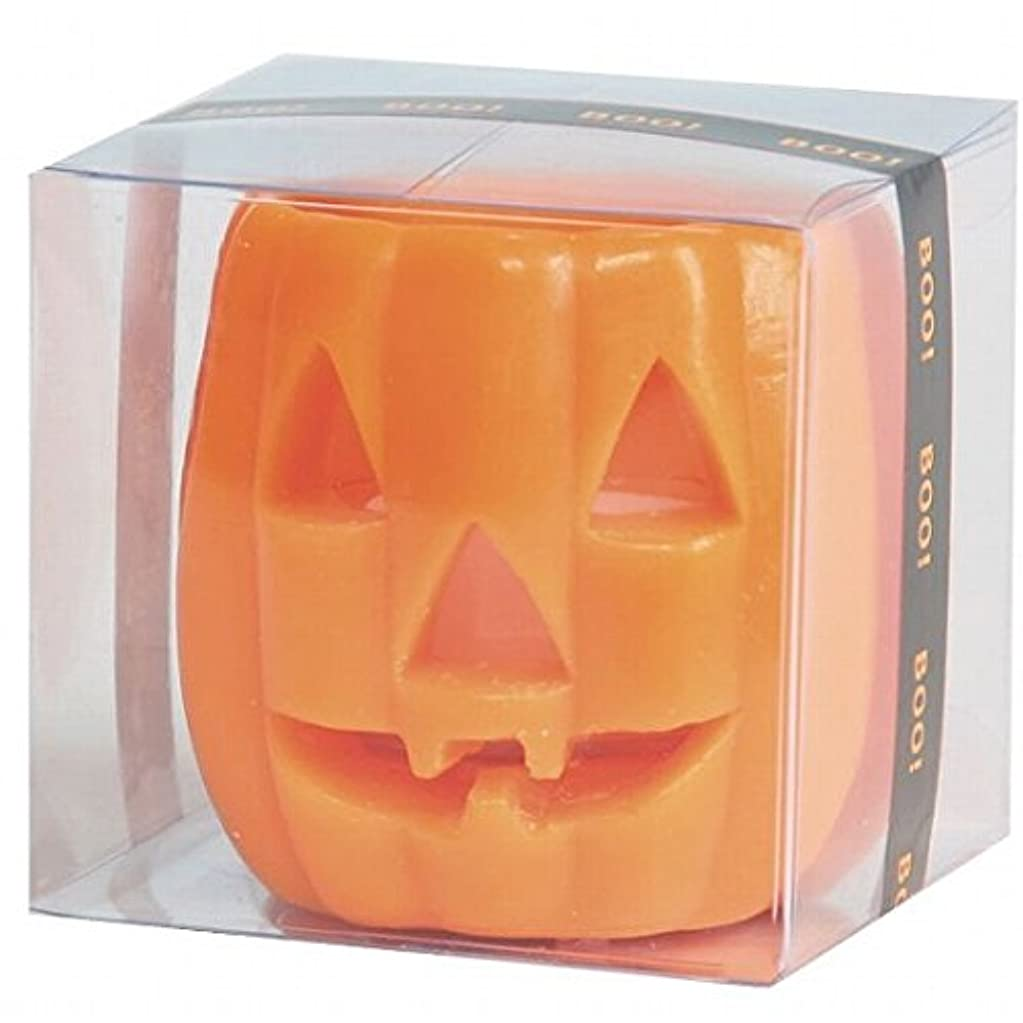もっともらしい元気ライオネルグリーンストリートカメヤマキャンドル(kameyama candle) パンプキンフェイスS 「 オレンジ 」 キャンドル