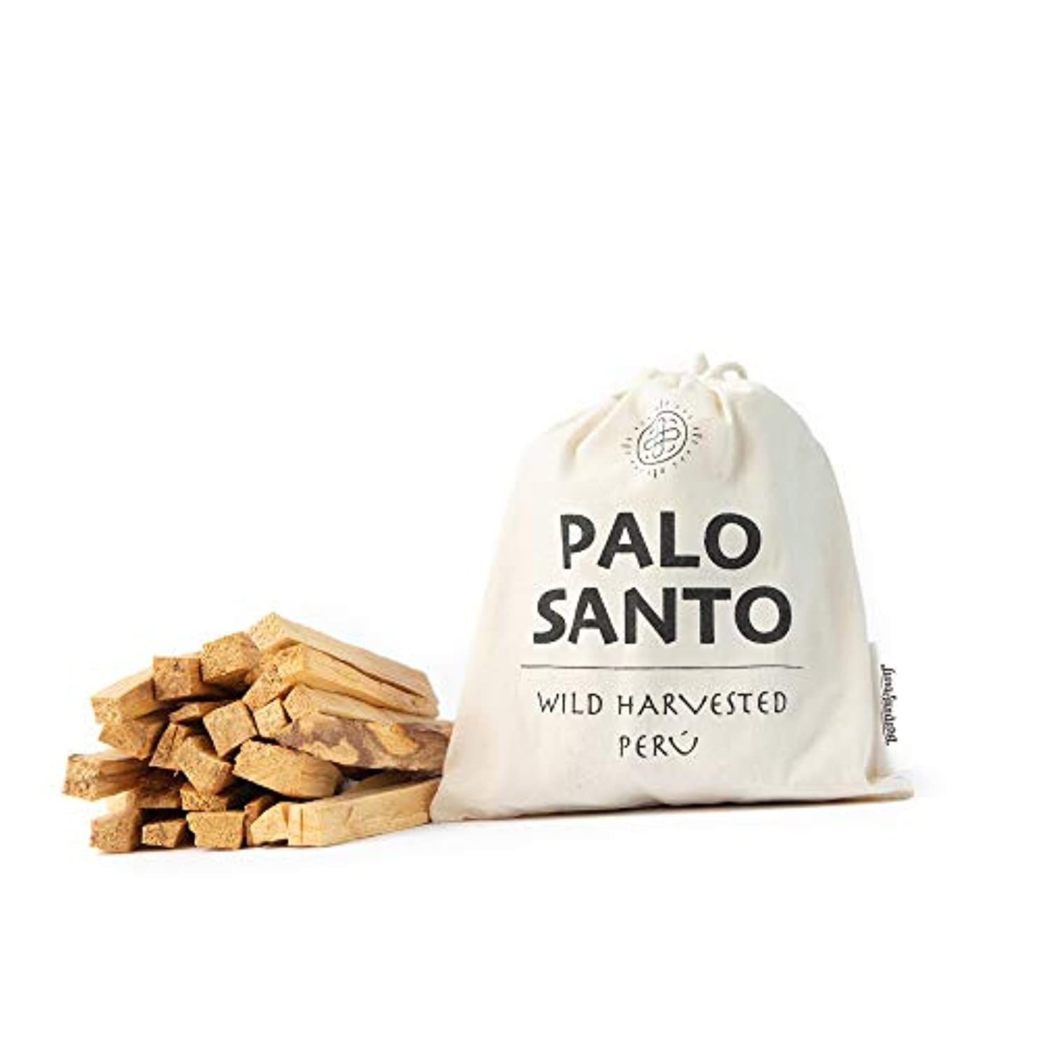 腸手配する分割Luna Sundara Palo Santo Smudging Sticks Peru Sustainably Harvested Quality Hand Picked - 100グラム(約18-25スティック)
