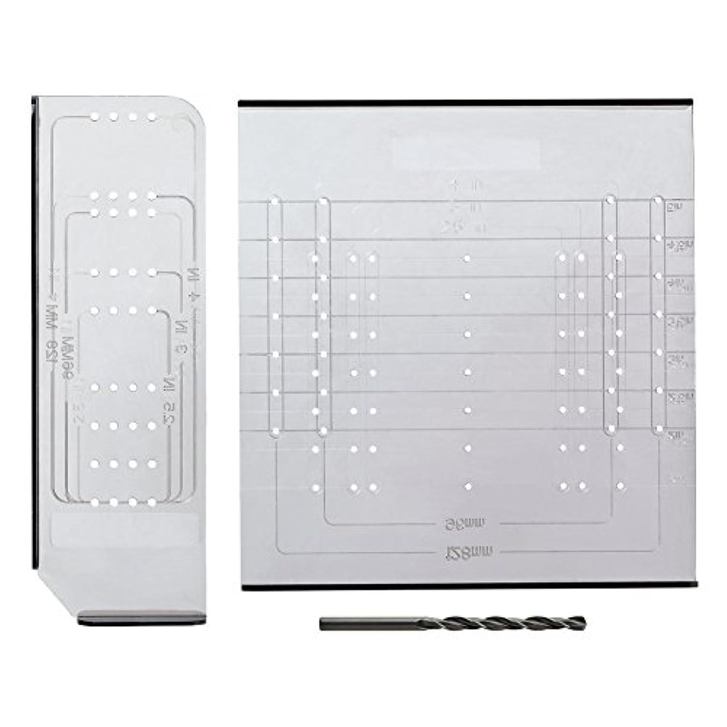 永久に香ばしい凍結Liberty An0251c-cl-u Alignright Cabinet Hardware Mounting Kit