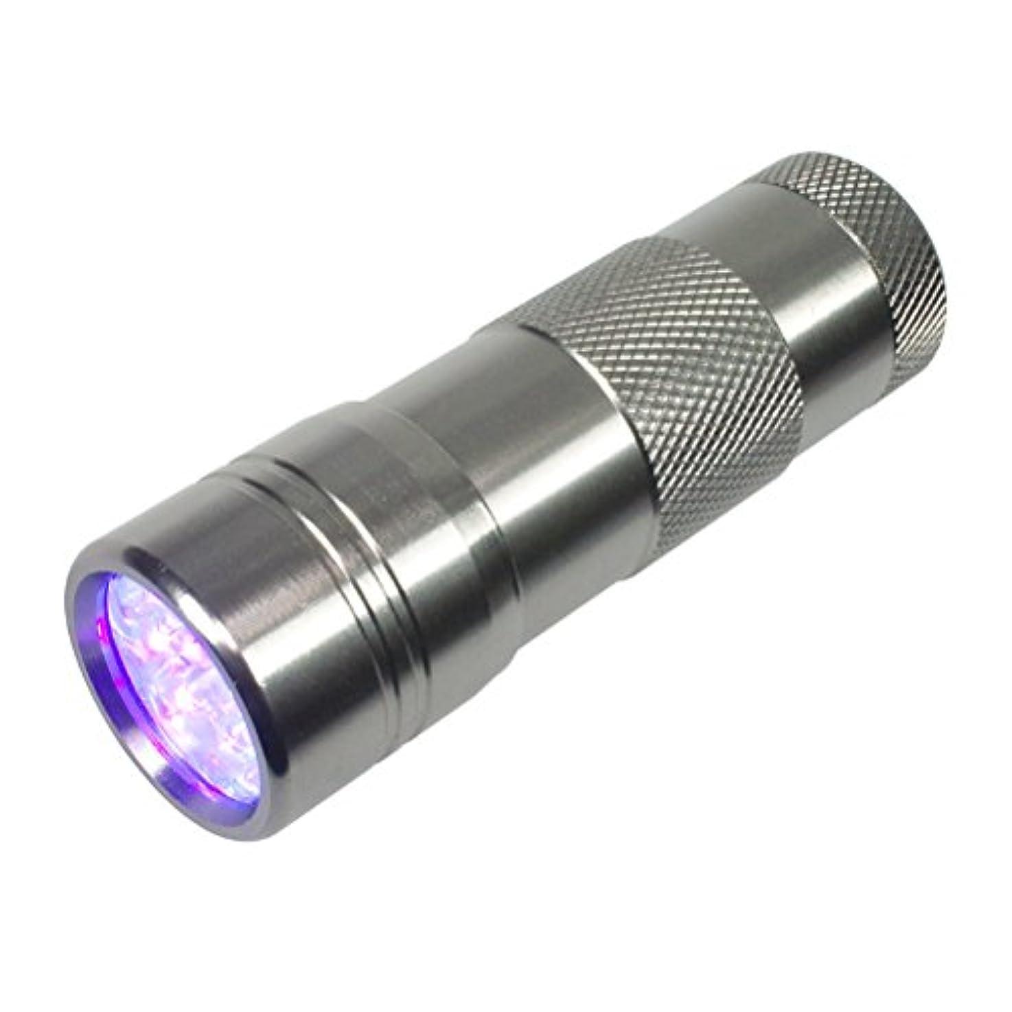 シェル天才敵ジェルネイル用UVライト ペン型LEDライト ミニサイズ 携帯用ハンディライト 超高速硬化 ジェルネイル用